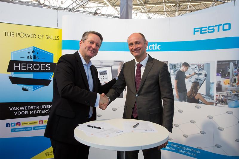 Samenwerking WorldSkills Netherlands en Festo Nederland