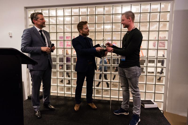 Julian van Lohuizen wint Berg Award