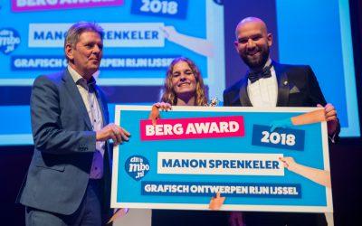 MANON SPRENKELER WINT BERG AWARD 2018!