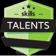 Skills Talents logo