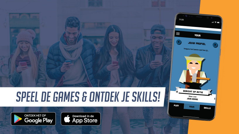 Nieuw: de Play Your Skills app!