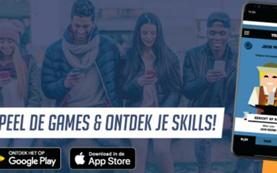 Ontdek jouw skills met de Play Your Skills app