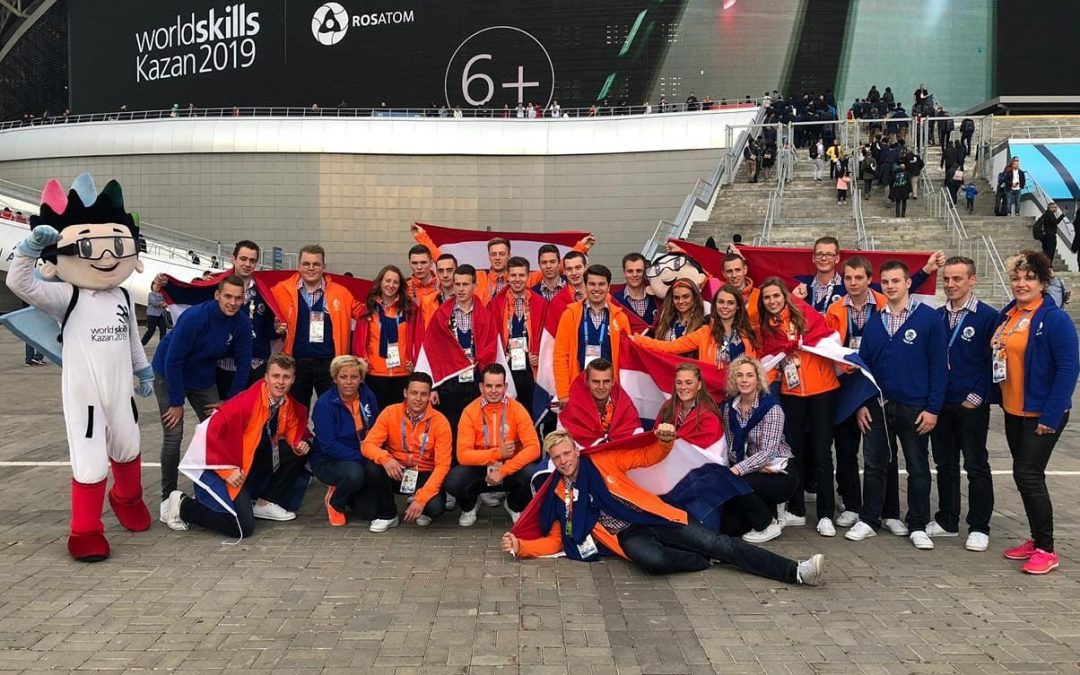 Nederlandse mbo- studenten behalen 13 medals of excellence in Rusland