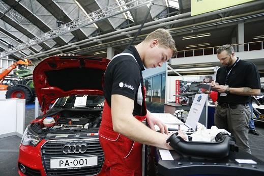 Kwalificatiewedstrijd autotechnicus