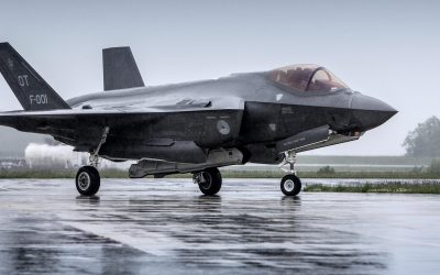 F35 flightsimulator tijdens Skills The Finals