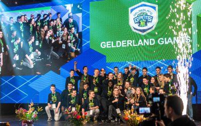 Gelderland Giants wint vandaag gouden provincieteam medaille