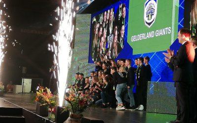 Teambuilding betaalt zich uit voor winnend Gelderland Giants-team