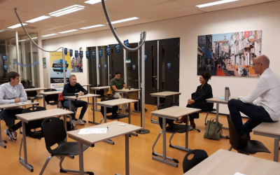Interview met docent en student: voorronde bij Da Vinci College