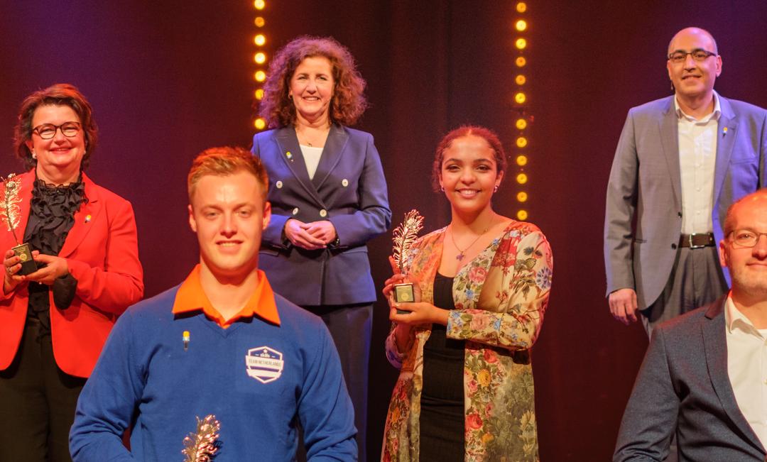 Team Netherlands wint de Berg Award tijdens het Ambassadeursgala 2021!